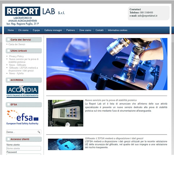 Report Lab Srl